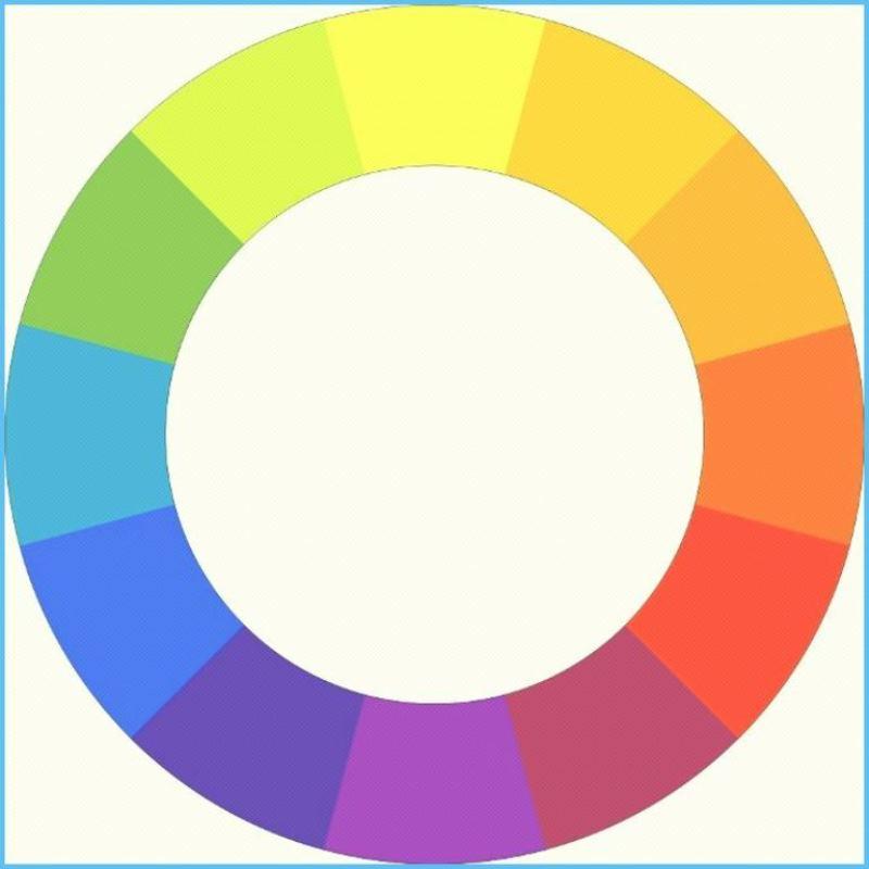 цветовой круг, тона, цвета, декор, сад, выбор, растения, цветология, колористика