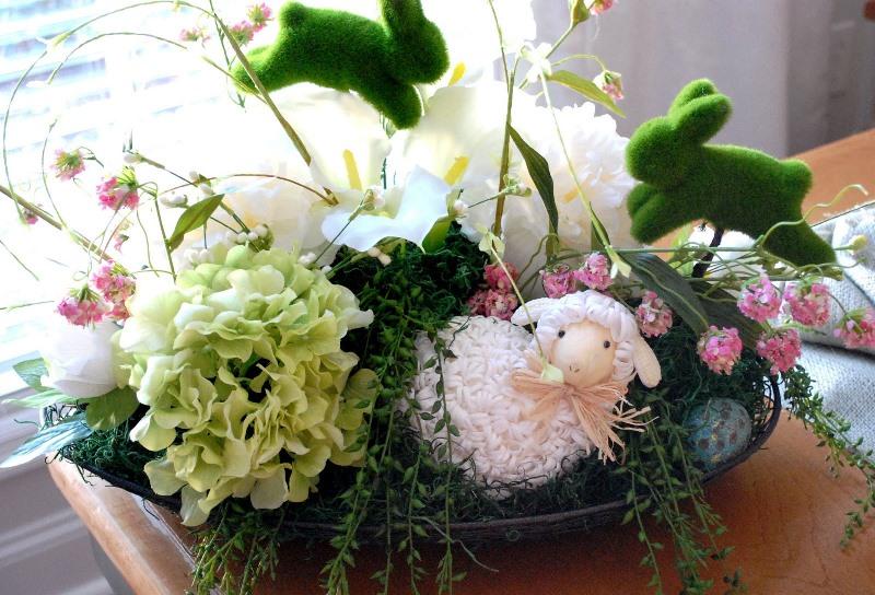 Пасха, декор, дизайн, цветы, растения, красота, уют, пасхальные декорации,
