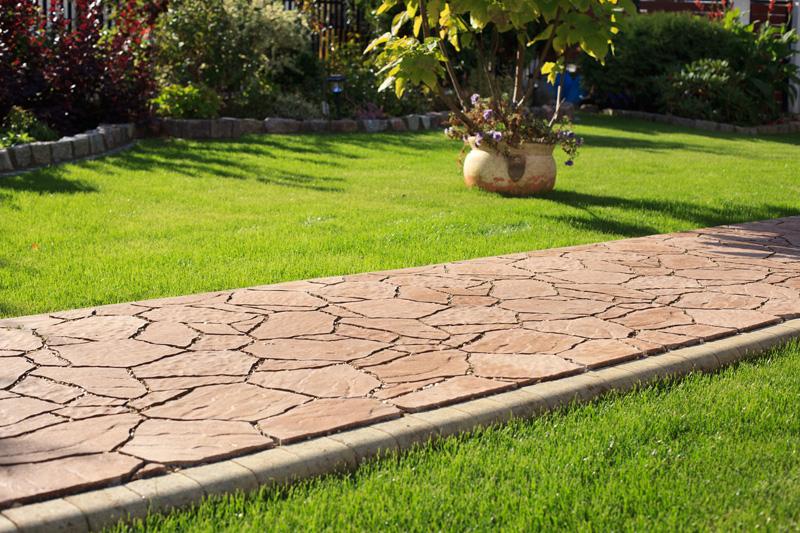 сад, уход, декор, покрытие, дорожки, гравий, гранит, брусчатка, плитка, дизайн, виды, земля, почва