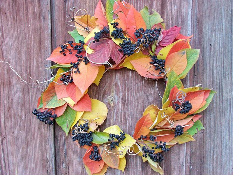 осень, сад, растения, уход, цветы, декор, горшки, венки, палеты, дизайн, тыквы, корзины, листья, уборка