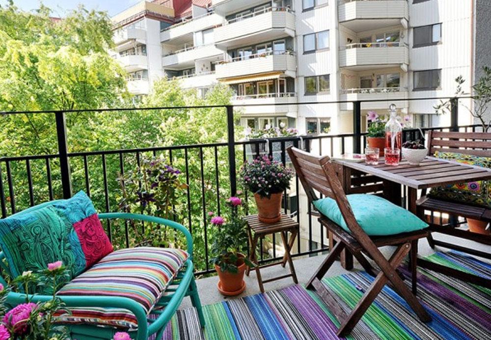 балкон, декор балкона, сад, декор сада