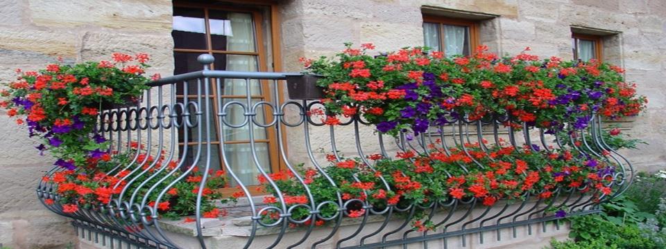 балкон, декор, сад, дизайн