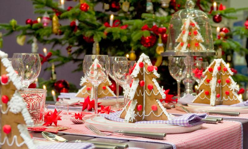рождкство, стол, декор, стиль, примеры, красота, растения, декор, стіл, різдво, свята