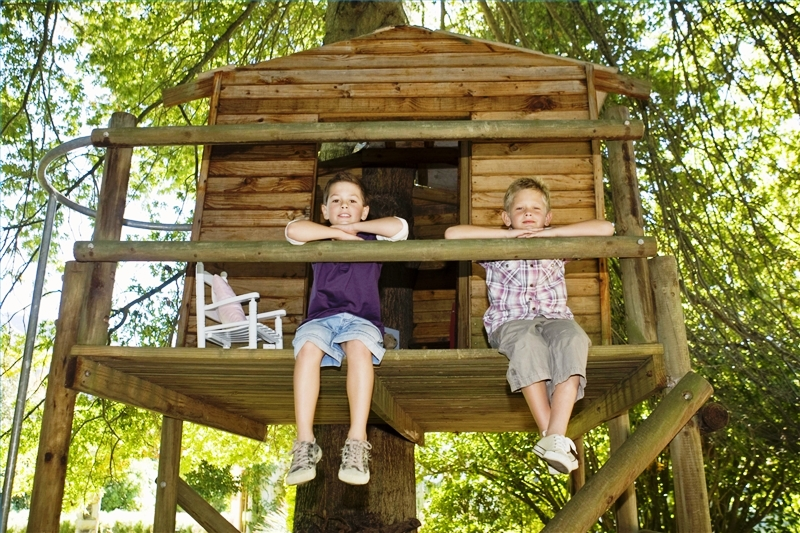 Как сделать мне ребенку дом на дереве 602