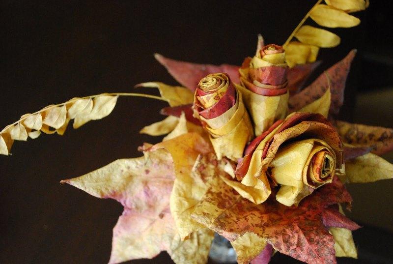 листья, дизайн, декор, сад, красота, творчество, растения, цветы
