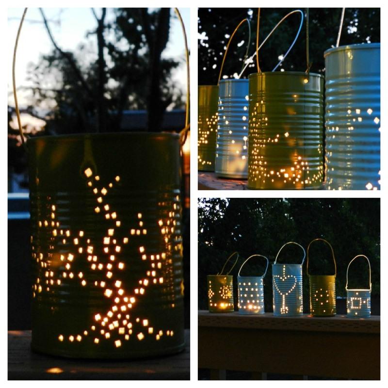 фонари, сад, огород, растения, уход, красота, дизайн, декор, свет, стиль