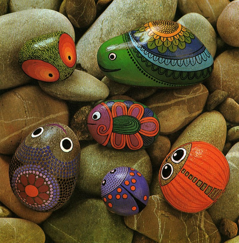 сад, камни, дизайн, декор, красота, краски